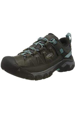 Keen Targhee III Waterproof, Zapatos de Low Rise Senderismo para Mujer, (Alcatraz/Blue Turquoise 0)