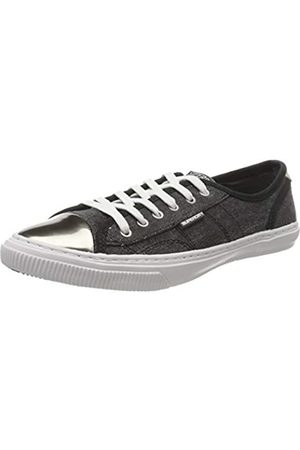 Superdry Low Pro Luxe Sneaker, Zapatillas para Mujer, (Washed Black AFB)