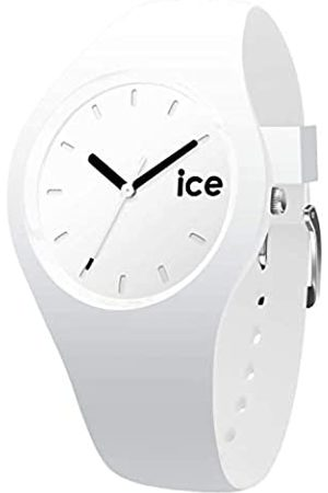 Ice-Watch ICE ola White Black - Reloj bianco para Mujer con Correa de silicona - 000992 (Small)