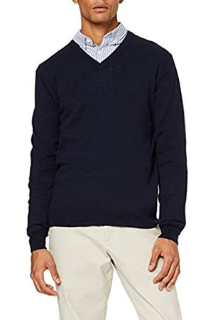Hackett Wool Silk Cash V Neck suéter