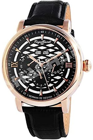 Engelhardt Reloj Analógico para Hombre de Mecánico con Correa en Cuero 3.88531E+11