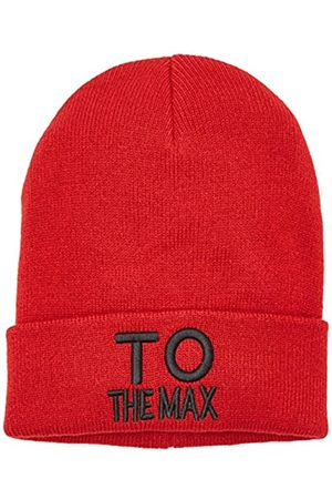 Only OnlTHE MAX KNIT BEANIE ACC, Gorro de punto Mujer, (Tango Red)