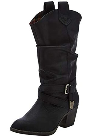 Rocket Dog Sidestep - Botas Estilo Motero Mujer, Color