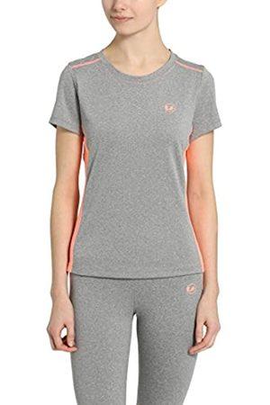 Ultrasport Fitness/Sport T-Shirt Camiseta de Manga Corta, Mujer, /Coral
