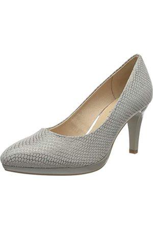 Caprice Ashley, Zapatos de Tacón para Mujer, (LT Grey Snake 255)