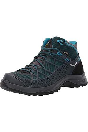 Salewa WS Wild Hiker Mid GTX, Zapatos de High Rise Senderismo para Mujer, (French Blue/Black 340)