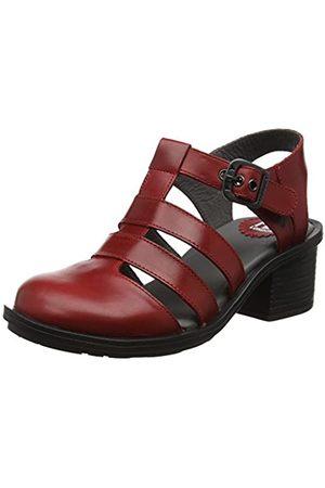 Fly London Cahy195fly, Zapatos de tacón con Punta Cerrada para Mujer, (Red 003)