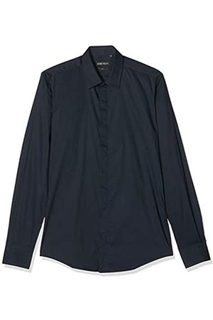 Antony Morato Basica con Abbottonatura Nascosta Elastica Camisa Casual