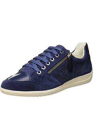 Geox D Myria a, Zapatillas para Mujer, (Blue C4000)