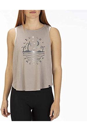 Hurley W Seaside Flouncy Tank Camiseta De Tirantes, Mujer