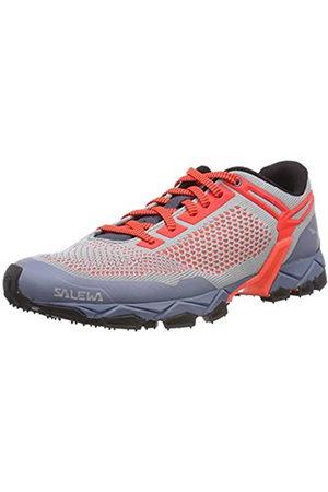 Salewa WS Lite Train K, Zapatillas de Running para Asfalto para Mujer, (Blue Fog/Fluor Coral 346)