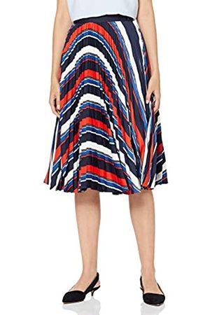 GANT D1. Preppy Stripe Pleated Skirt Falda