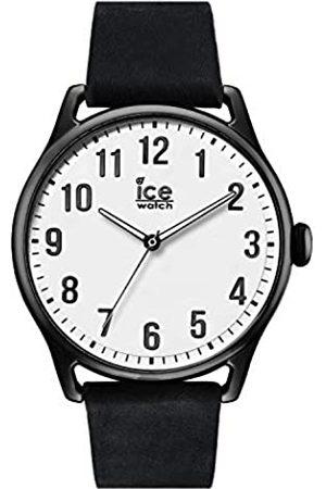Ice-Watch ICE time Black White - Reloj nero para Hombre con Correa de cuero - 013041 (Large)