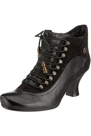 Hush Puppies Vivianna - Botines de caña alta con tacón para mujer, (Black/Multi)