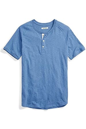 Goodthreads Marca Amazon - Short-sleeve Slub Henley, Hombre