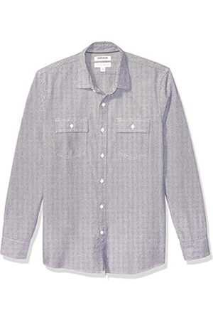 Goodthreads Standard-Fit Long-Sleeve Plaid Herringbone Shirt Button-Down-Shirts