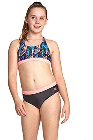 Zoggs Shimmer Muscle 2 Piece baño, niña, 32 UK, 152cm