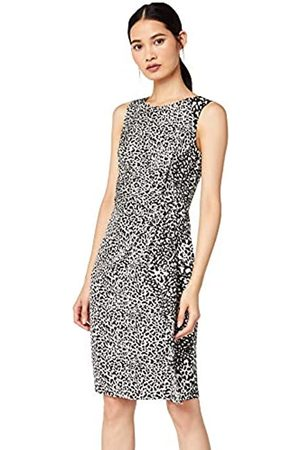 TRUTH & FABLE Marca Amazon - Twist Bodycon Vestido, Multicolour)