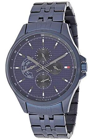 Tommy Hilfiger Reloj Multiesfera para Hombre de Cuarzo con Correa en Acero Inoxidable 1791618