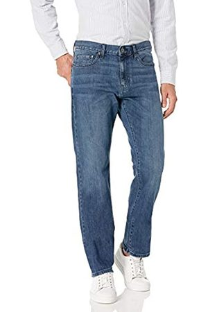 Goodthreads Straight-Fit Jean jeans, Medium Indigo)