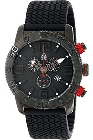Burgmeister BM521-622E - Reloj analógico de Cuarzo para Hombre con Correa de Silicona