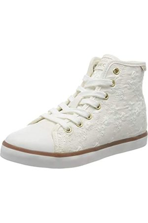 Geox Jr Ciak Girl B, Zapatillas Altas para Niñas, (White C1000)