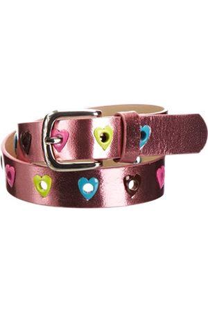 Playshoes PU-Gürtel Herzchen Cinturón, (Pink)