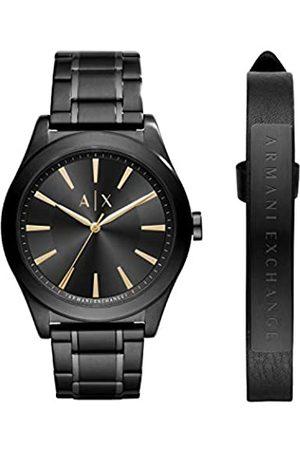 Armani Reloj Analógico para Hombre de Cuarzo con Correa en Acero Inoxidable AX7102