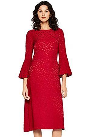 FIND Vestido Midi Satinado Mujer