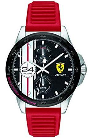 Scuderia Ferrari Reloj Analógico para Hombre de Cuarzo con Correa en Silicona 0830657