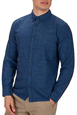 Hurley M One and Only LS Camisa de Manga Larga, Hombre