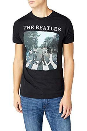 Desconocido Unknown Abbey Road and Logo - Camiseta Manga Corta para Hombre