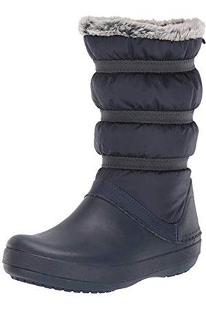 Crocs Crocband Winter Boot Women, Botas de Nieve para Mujer, (Navy)
