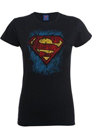 DC Camiseta de Manga Corta con Cuello Redondo para Mujer