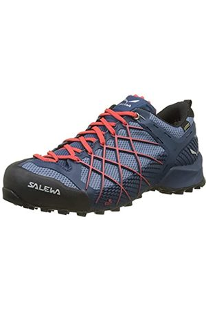 Salewa Ms Wildfire GTX, Zapatos de Low Rise Senderismo para Hombre, (Dark Denim/Papavero 8673)