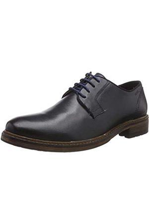 Marc Brentwood, Zapatos de Cordones Oxford para Hombre, (Cow Velvet Grey 00939)