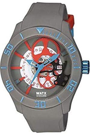 Watx Reloj Análogo clásico para Hombre de Cuarzo con Correa en Caucho REWA1922