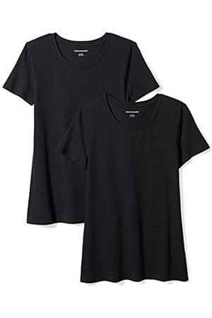 Amazon 2-Pack Short-Sleeve Crewneck Solid T-Shirt Camiseta