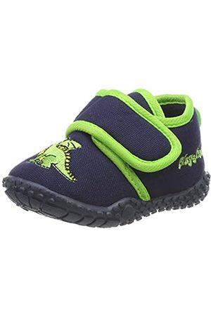 Playshoes Zapatillas Dragón, Pantuflas para Niños, (Marine 11)
