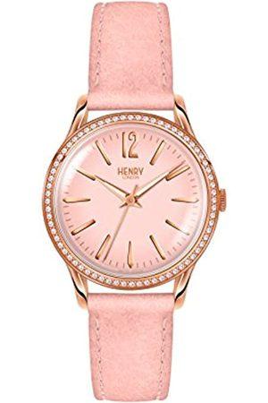 Henry Reloj Análogo clásico para Mujer de Cuarzo con Correa en Cuero HL34-SS-0202