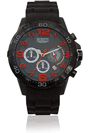 Munich Reloj Analógico para Unisex Adultos de Cuarzo con Correa en Caucho MU+137.1A