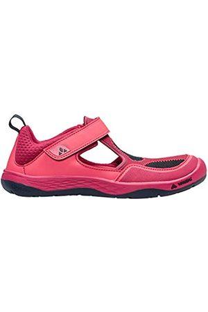 Vaude Kids Aquid, Zapatos de Low Rise Senderismo Unisex Niños, (Bright Pink 957)