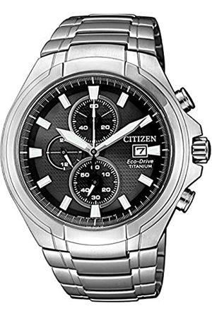 Citizen Reloj Analógico para Hombre de Cuarzo con Correa en Titanio CA0700-86E