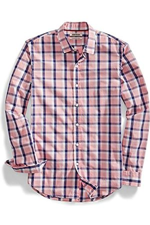 Goodthreads Slim-Fit Long-Sleeve Two-Color Windowpane Shirt Camisa