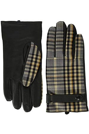 Scotch&Soda Classic Wool-panelled Leather Gloves Guantes