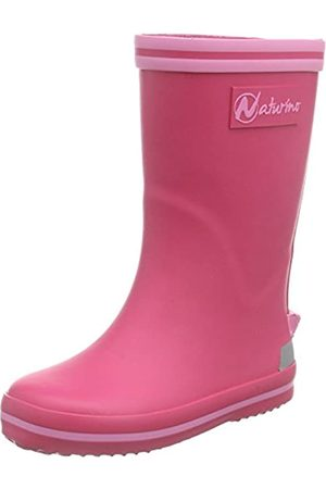 Naturino Rain Boot, Botines para Niñas, -Pink (Gomma Fuxia- )