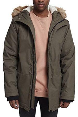 Urban classics Heavy Cotton Imitation Fur Parka L para Hombre
