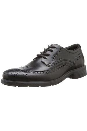 Geox U Dublin B, Zapatos de Vestir para Hombre, (BLACKC9999)