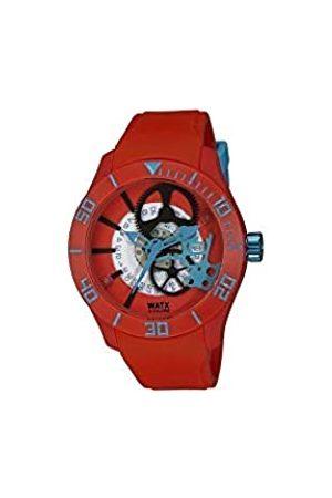Watx Reloj Análogo clásico para Hombre de Cuarzo con Correa en Caucho REWA1921