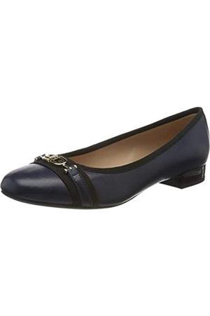 Geox D Wistrey D, Bailarinas para Mujer, (Blue/Black C0064)